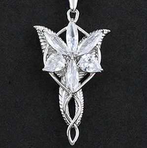 Necklace pendant amulet lord of the rings elven princess arwen the lord of the rings elf princess necklace pendant amulet lord of aloadofball Image collections