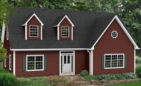 Houses With Red Siding Cape Cod Gray For The Home Pinterest Vinyl Siding House Siding Exterior House Colors