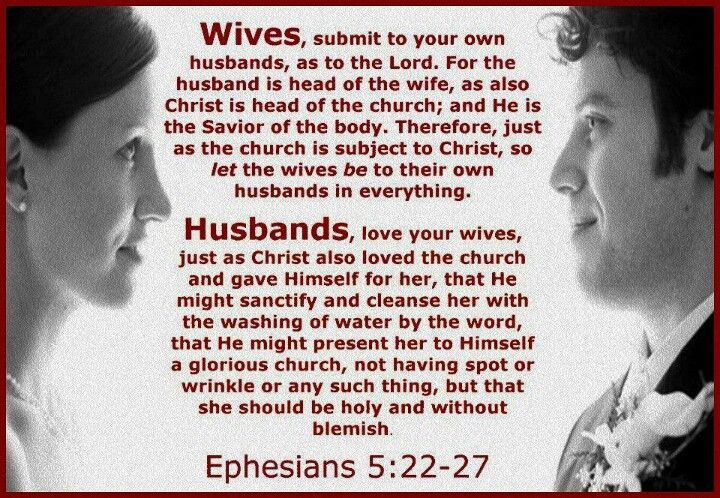 #Ephesians 5:22-27 | Marriage quotes from the bible