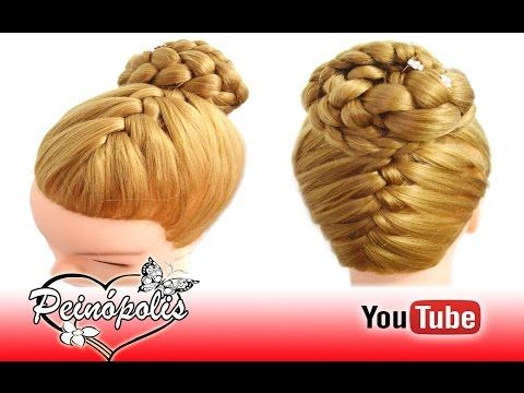 Peinados Faciles y Rapidos - Trenzas en Flor - DUTCH FLOWER BRAID