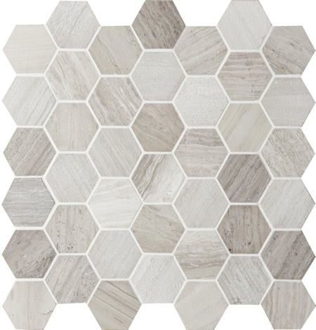 Montage Tile Sirocco Hexagon Concrete