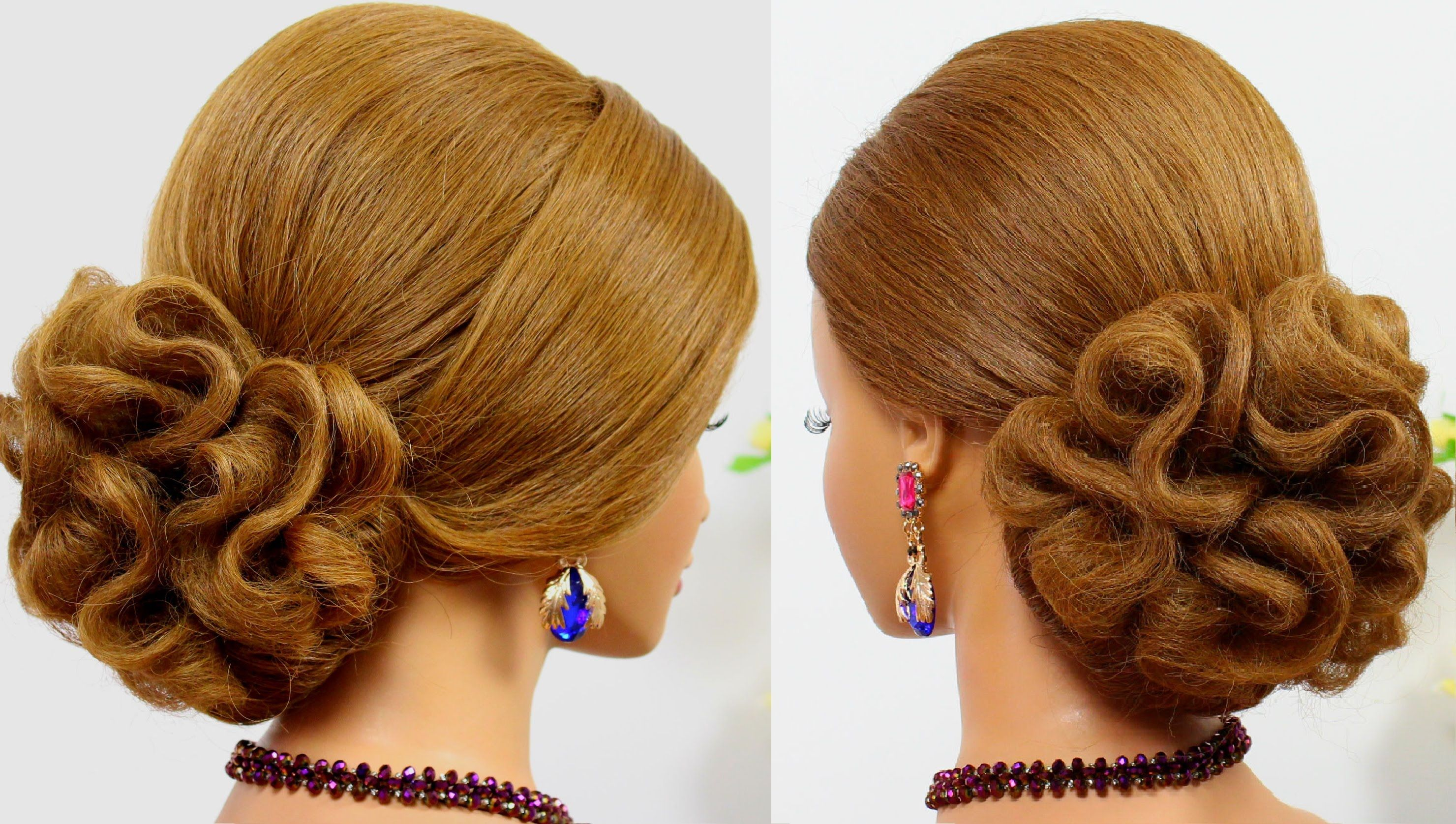 34 Diy Hairstyle Tutorials For Wedding And Prom Hair Styles Wedding Hairstyles Tutorial Updo Hairstyles Tutorials