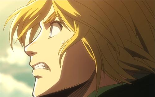 Armin looks super hot in this screenshot