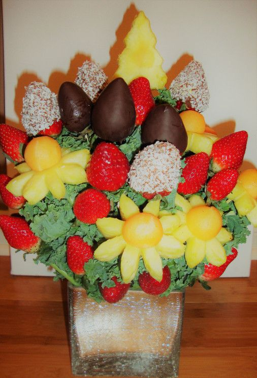 Fancy some flowers? What\'s your choice? Veggie, fruit, cheese? Give ...
