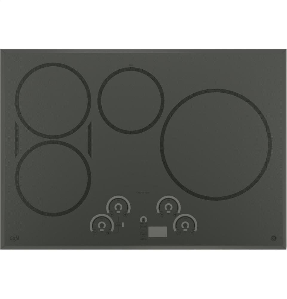 Ge Cafe Chp9530sjss 30 Built In Induction Cooktop With Four Elements Glide Touch Controls Kitchen Timersgriddlesflagstonekitchen Liancesstainless Steel