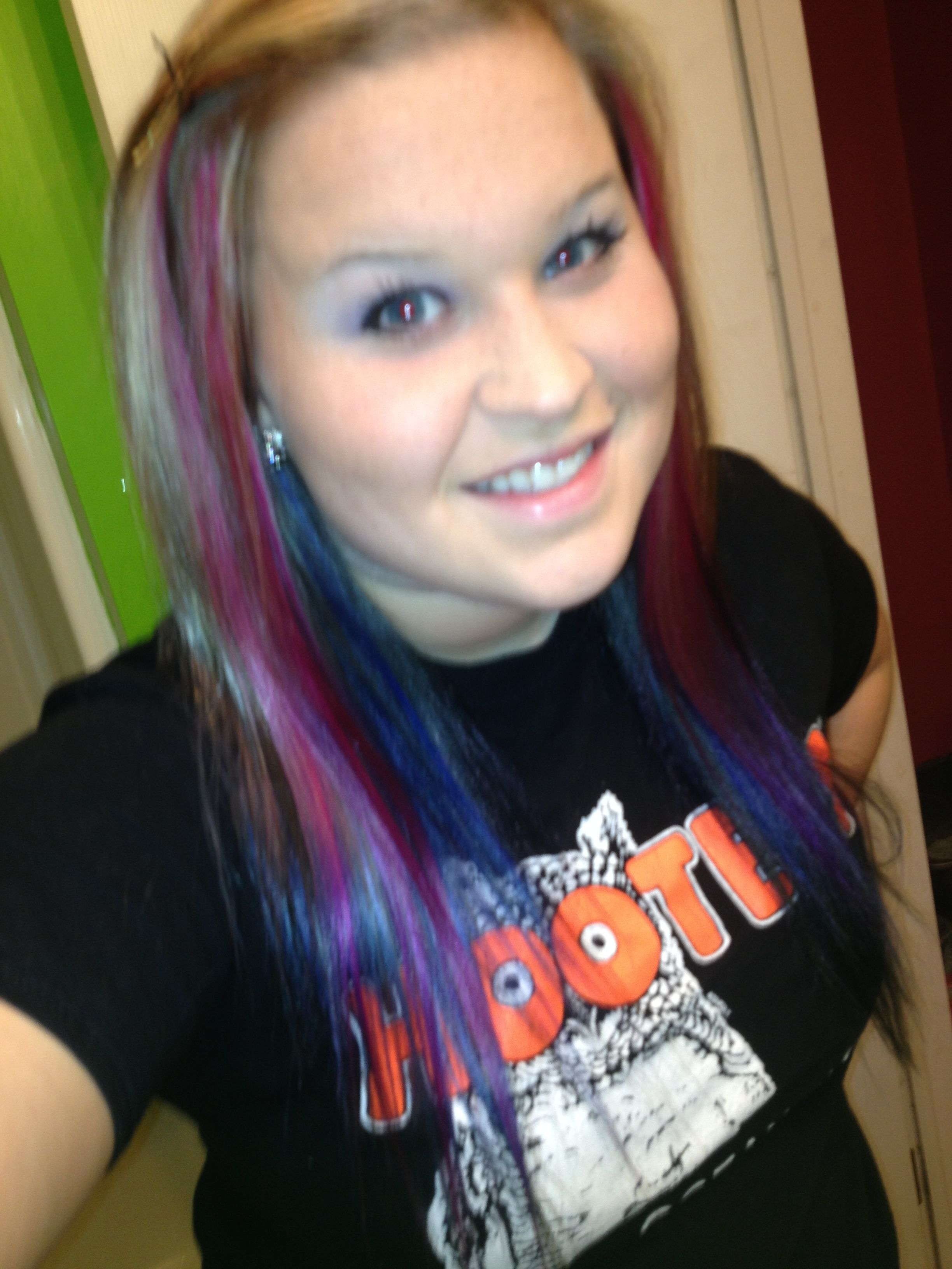 Newest hair  color :)