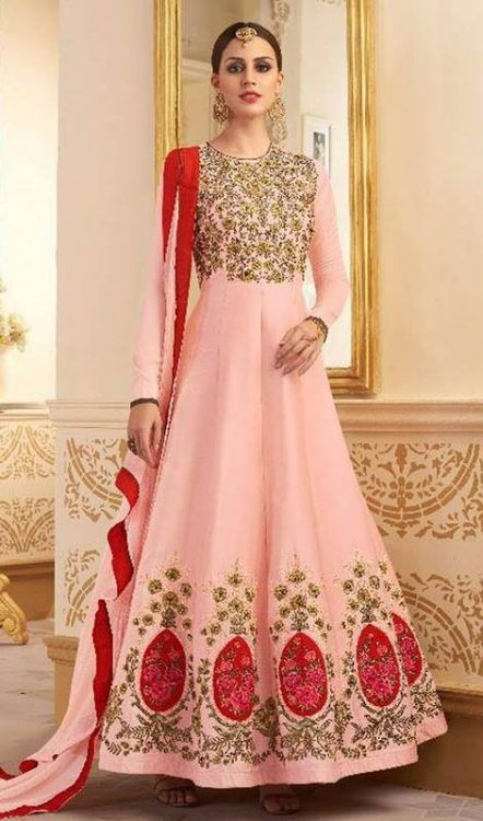 Party Wear Gown Style Anarkali Suits 2018 for Girls   Indian Fashion ...