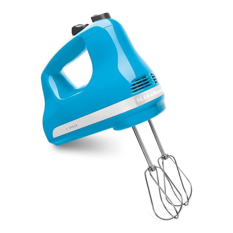 Kitchenaid khm512 5speed ultra power hand mixer blue
