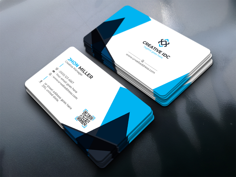 Business Card V3 Corporate Identity Template 88364 Business Card Design Business Cards Visiting Cards