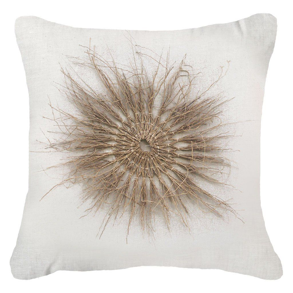 Wood Twigs White Lounge Cushion 55 x 55 cm | Lounge ...