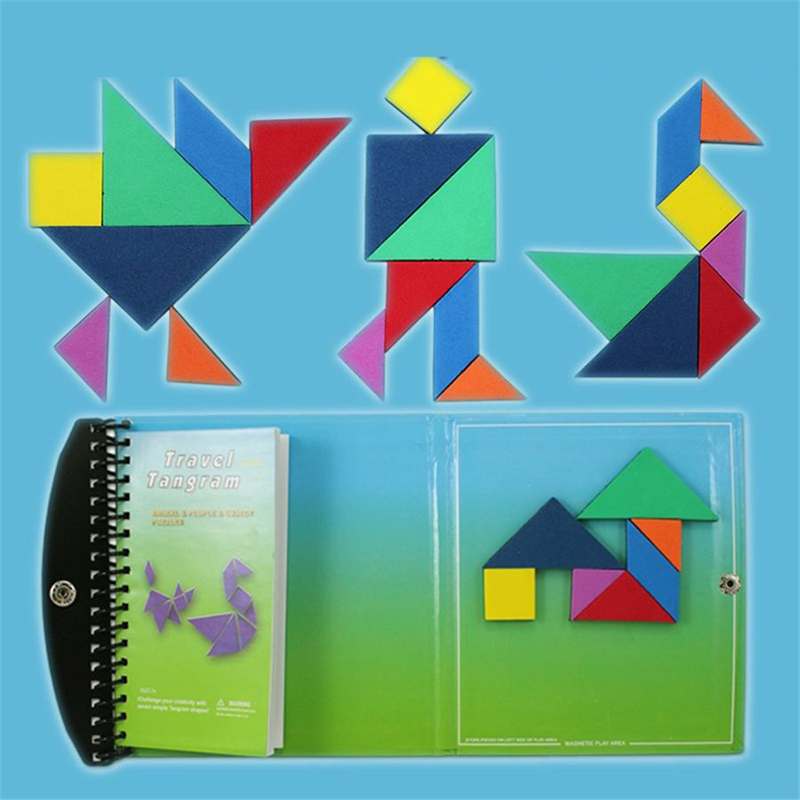 wood puzzles for children jigsaw puzzles for kids wooden tangrams jigsaw christmas tree decorations educational toys