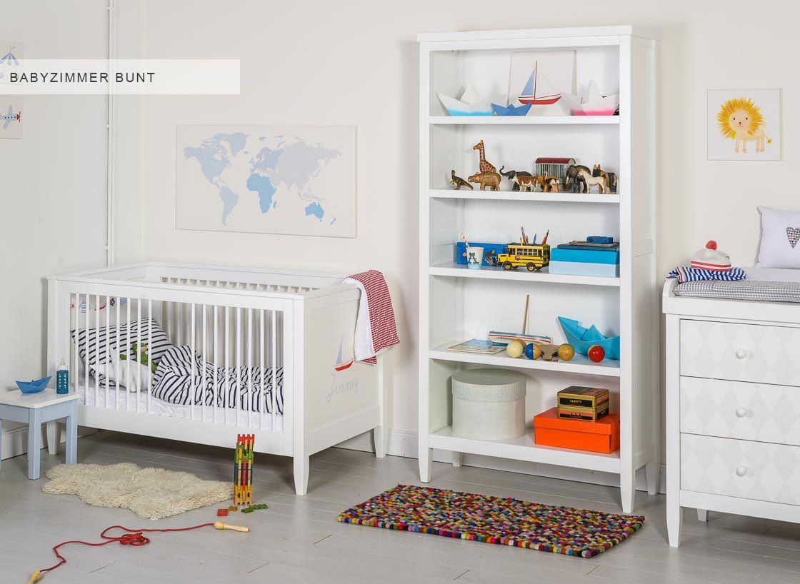 Babyzimmer bunt - unsere Inspiration