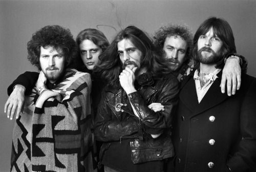 jivewired:  THE EAGLES Los Angeles, CA 1976 Photo Credit: Norman Seeff   Mmmmm