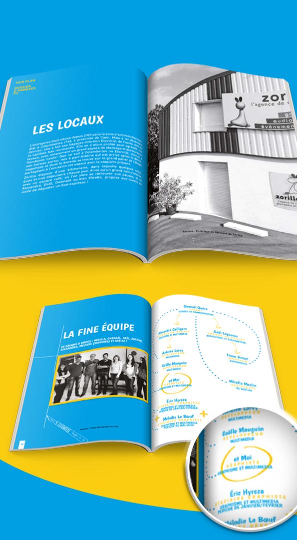 Rapport D Activité Activity Report By Elsa Lecocq Via