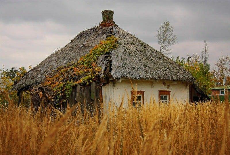 Украинские деревни в картинках