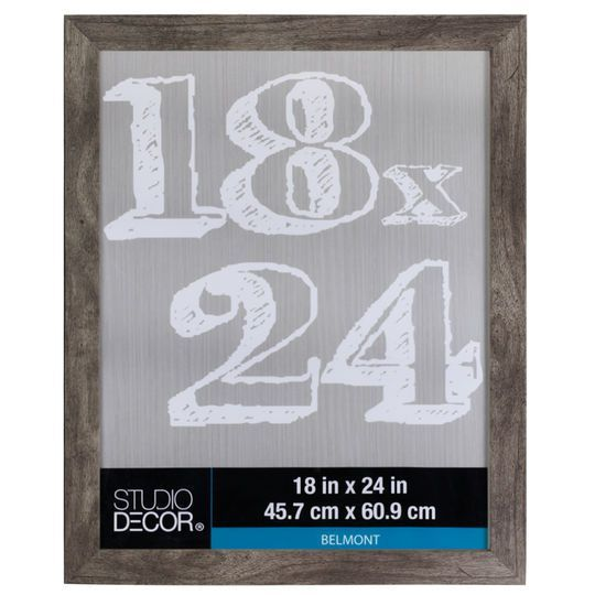 Durable frame has a contemporary design and looks great in almost any décor. This handsome frame is perfect for displaying a cherished photograph or artwork.