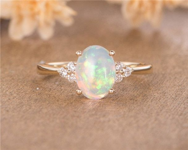 Engagement rings opal  Yellow engagement rings  Vintage engagement rings  Opal engagement  Engagement rings opal Yellow engagement rings Vintage engagement rings Opal eng...