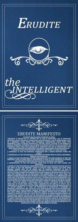 Erudite manifesto