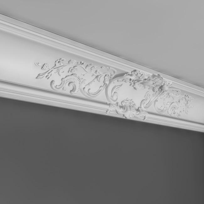 Corniche Moulure De Plafond Luus Orac Decor Pour Deco Rail C338a