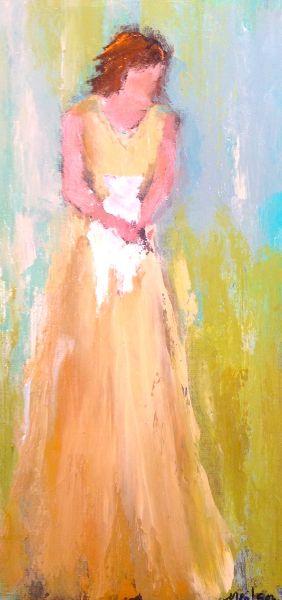 Behold the lamb of God. Anne Neilson - Anne Irwin Fine Art