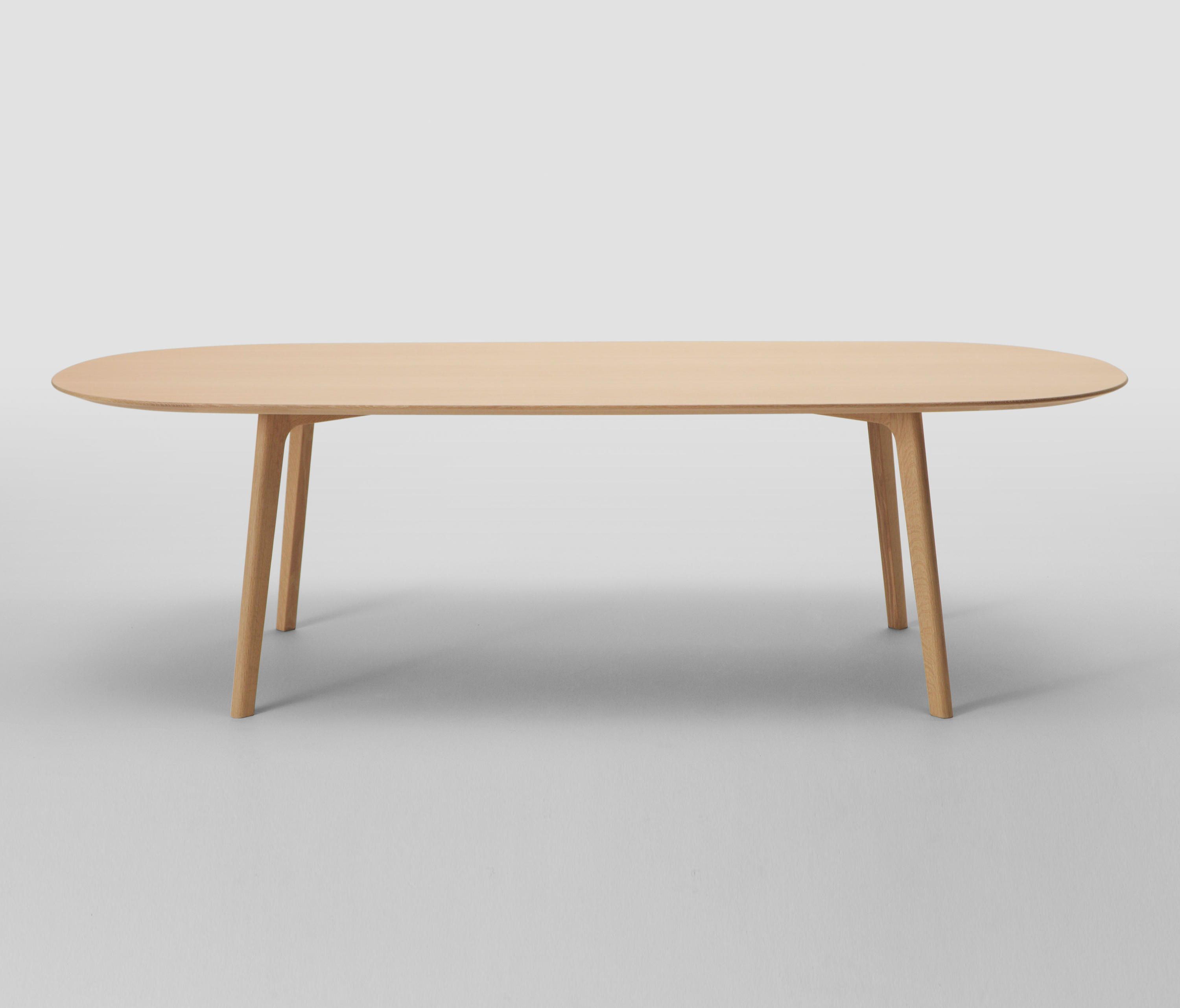 Roundish Table 240 Oval Designer Dining Tables From Maruni