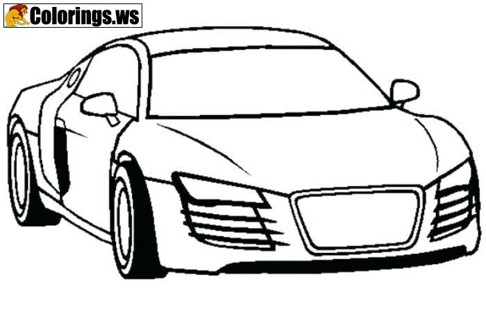 Lambo Car Coloring Page Car Coloring Pages Kids Love Coloring