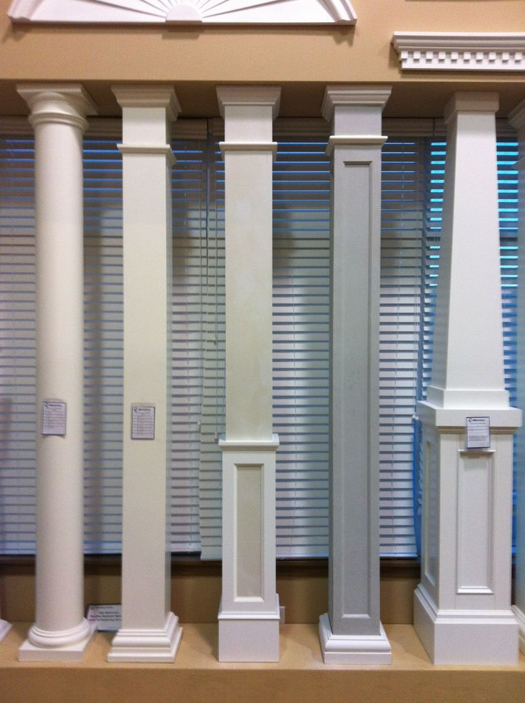 We have a wide variety of columns and column wraps available ...