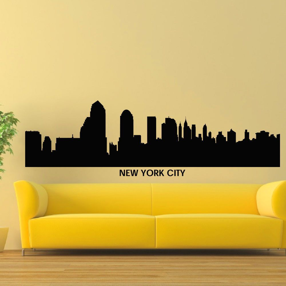Attractive New York City Skyline Wall Art Model - The Wall Art ...