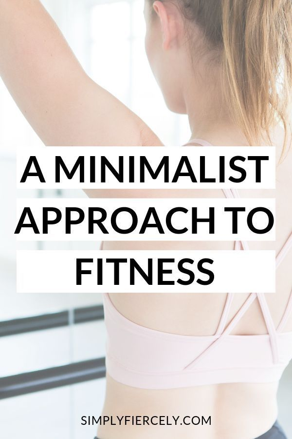 #minimalism  #fitness #Learn #how #my  Learn how my friend Jen took a minimalist approach to fitness...