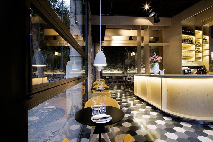 Ресторан SABºC в Испании | Дизайн|Все самое интересное о дизайне, архитектура, дизайн интерьера, декор, стилевые направления в интерьере, интересные идеи и хэндмейд