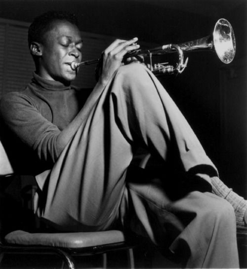 """When you're creating your own shit, man, even the sky ain't the limit.""  Miles Davis"