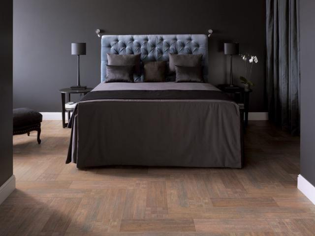 Using Ceramic Tile For Bedroom Floors | Bedroom Flooring, Unique Flooring, Home N Decor