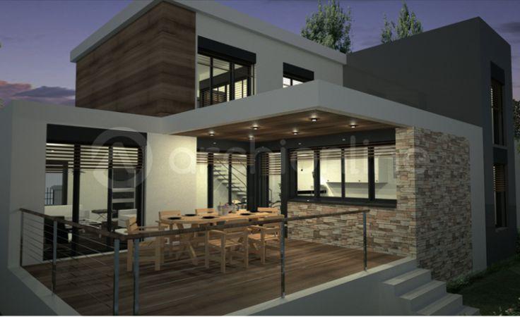 maison de campagne moderne - Recherche Google architecture - facade de maison moderne