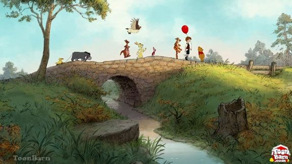 Hundred Acre Wood Mural Ideas Winnie The Pooh Background Cartoon Wallpaper Winnie The Pooh Classic