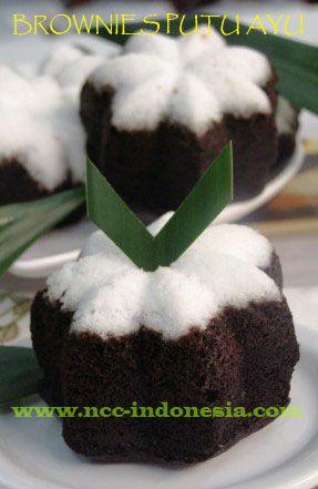Brownies Putu Ayu Ncc Memasak Ide Makanan Cemilan