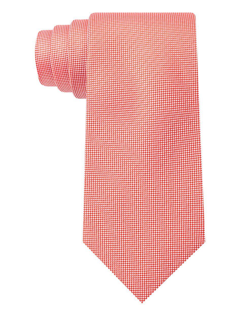 CALVIN KLEINSilk Textured Tie