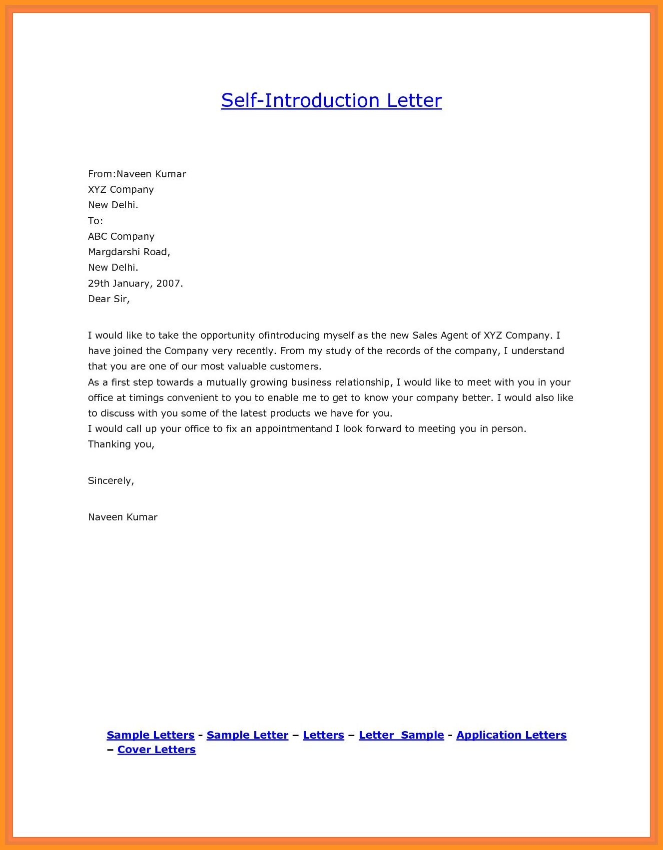 Valid Introduction Letter For A Job Sample You Can Download For Full Letter Resume Templ Introduction Letter Business Letter Format Introduction Letter For Job