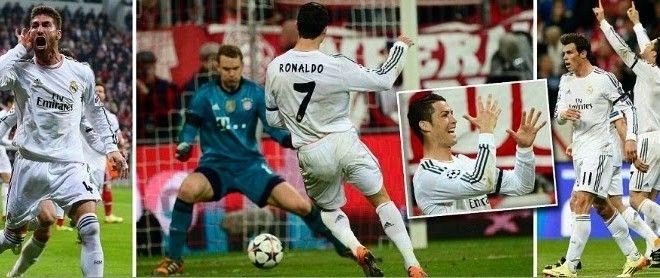 Real Madrid Vs Bayern Munich 4 0 Champions League Match Highlights Video Footballwood Match Highlights Champions League Bayern Munich