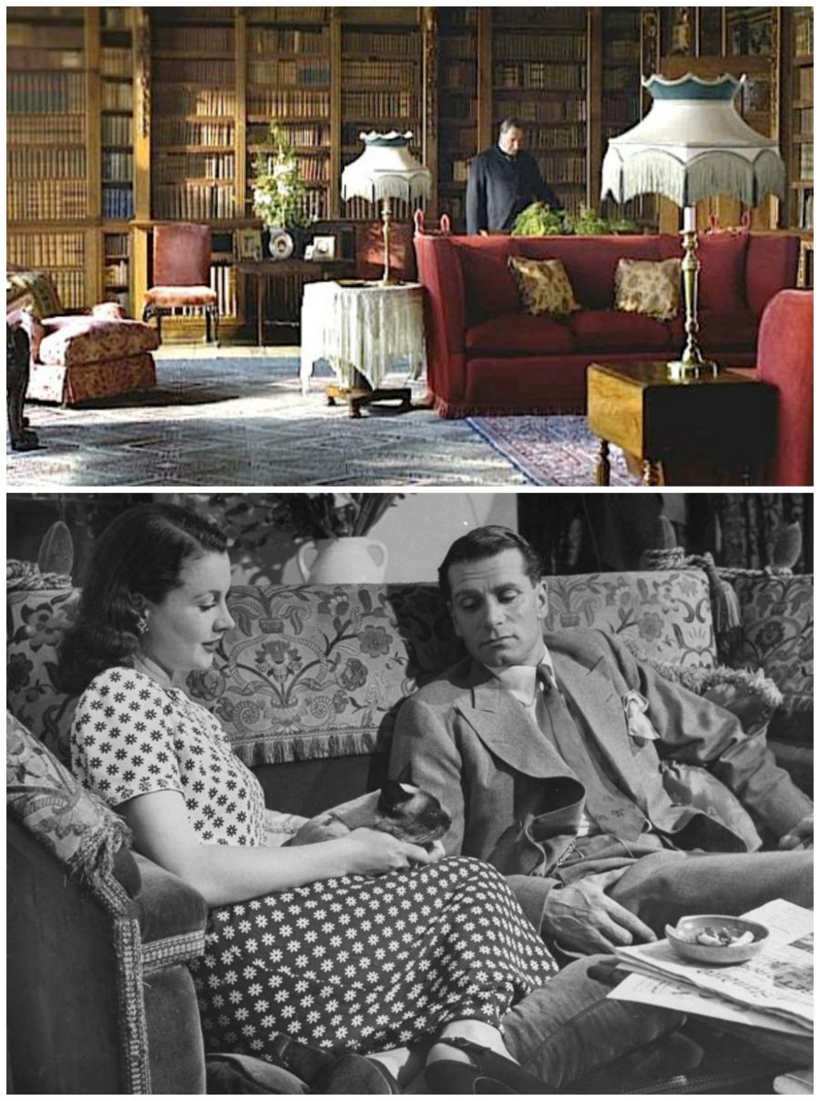 Knole Settee In Downton Abbey And