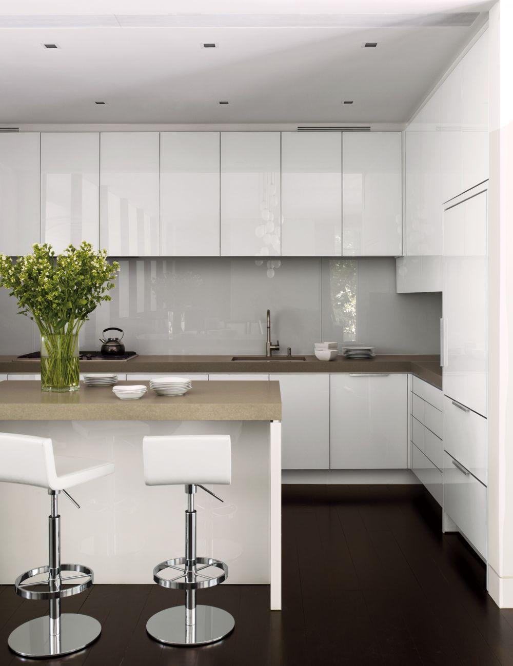 Modern Kitchen Carrier Interiors Architectural Digest Kasler Ad Designfile Home