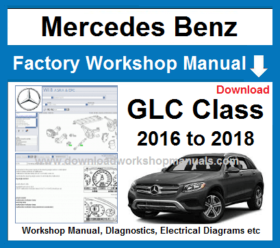 Mercedes Glc Class Workshop Manual And Wiring Diagrams Mercedes Mercedes Benz Parts Mercedes M Class