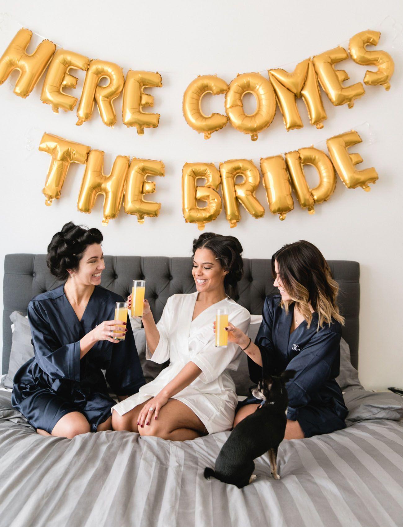 Wedding dresses downtown la  Vintage Meets Urban at this Downtown LA Wedding  Maid of Honor