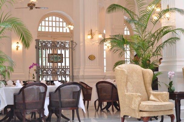 High Tea At Raffles Hotel Singapore Tea Rooms Around
