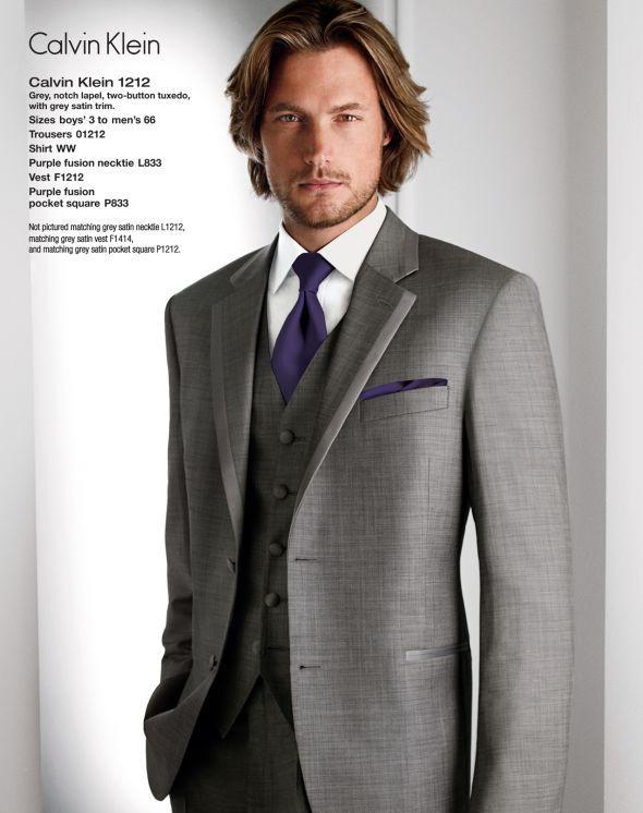 Freeman Formal carries it... Calvin Klein 1212 Grey b164aae8b274