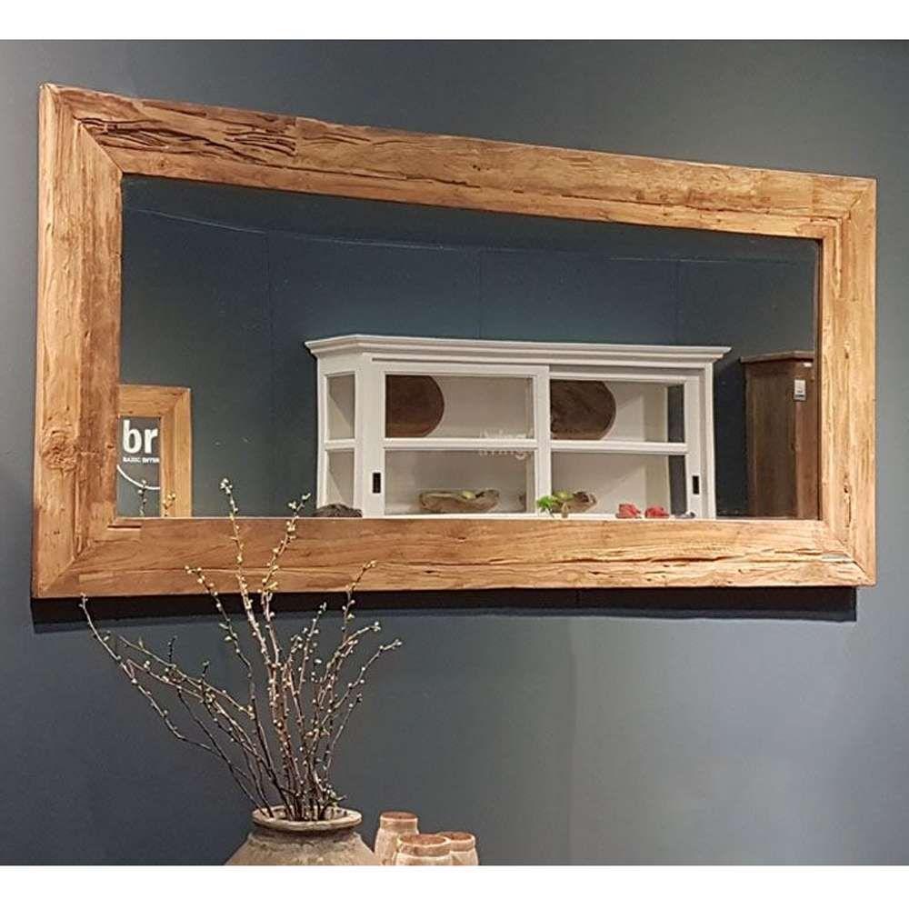Wandspiegel Erosie Spiegel 150 X 80 Cm Teakholzrahmen Mirror Teakholzspiegel New Maison Esto Ihr Grosser Mobel Online Spiegel Holz Wandspiegel Teak Holz