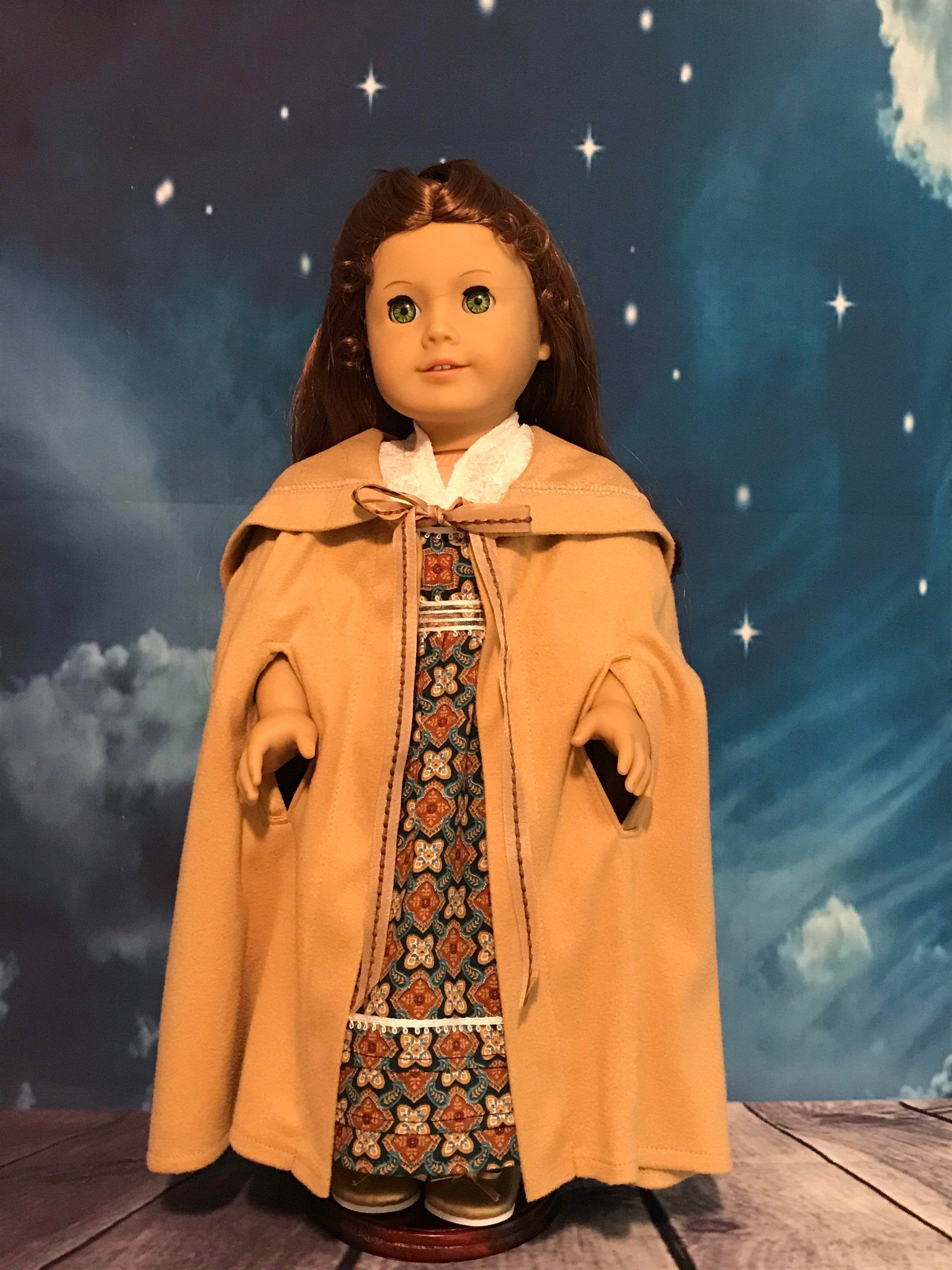 """American Girl 18in doll/18"""" historical doll clothes/18in doll clothing American Girl dolls/Regency era doll dress/American Girl 18inch doll"""