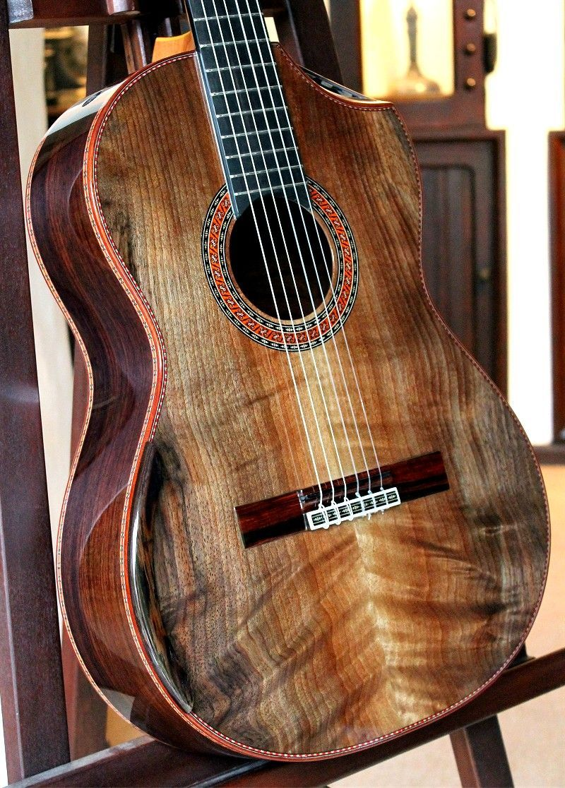 Brazilian Rosewood B Curly Sinker Redwood Top Luthier