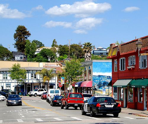 Downtown Capitola California By Tex Texin Via Flickr Capitola Santa Cruz Santa Cruz County