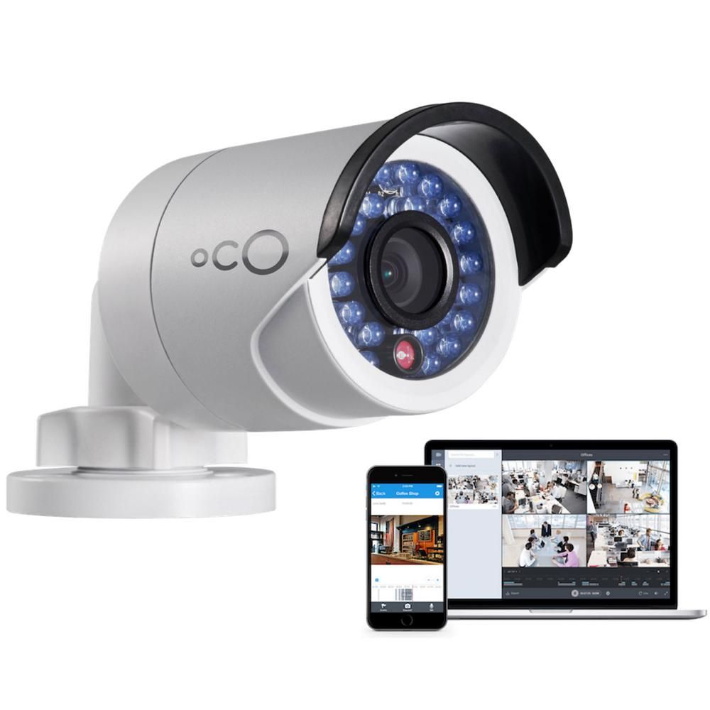 Oco Pro Bullet Outdoor/Indoor 1080p Cloud Surveillance and Security ...