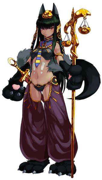 Anubis Personnage Anime Anubis